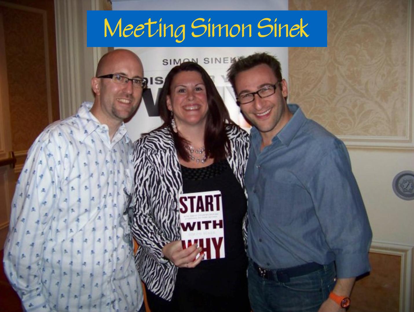 Meeting simon sinek start with why