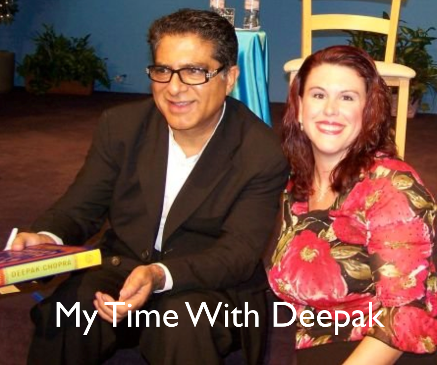 Deepak Chopra and Melissa Knecht