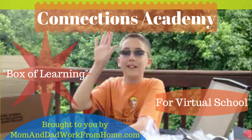 Connections Academy Box of Learning for Virtual School