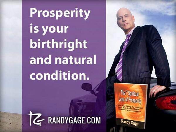 Prosperity is your birthright