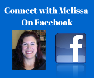 Connect with Melissa On Facebook