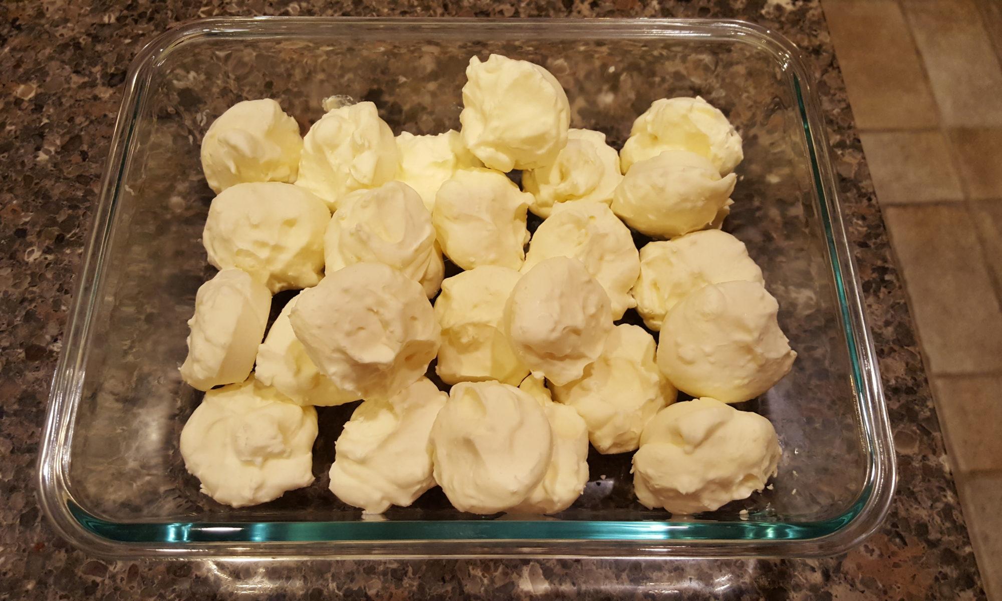 Banana Cream Fat Bombs