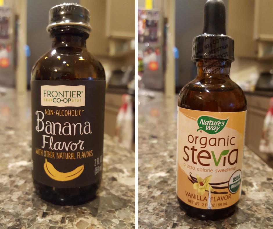 Banana Flavor Vanilla Stevia